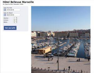 Rejoignez l'hôtel Bellevue sur sa page Facebook