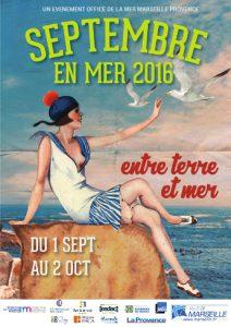 Septembre en mer est une manifestation qui se déroule à Marseille