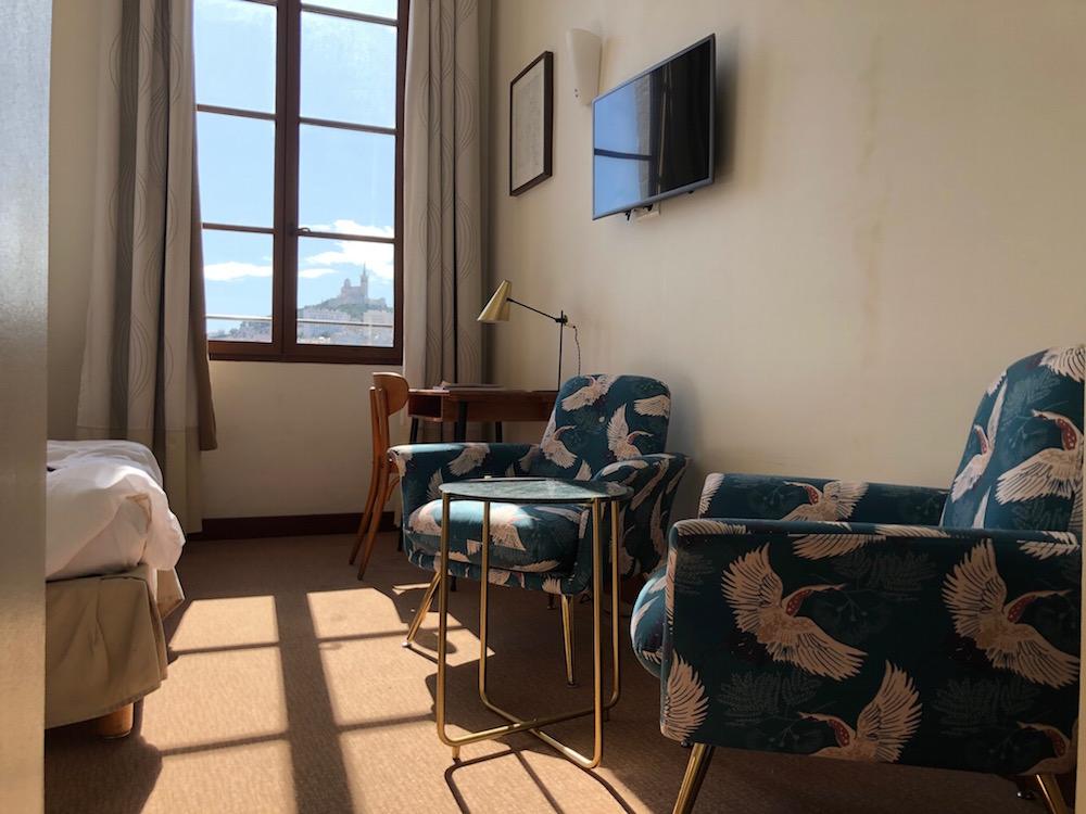 chambre hotel marseille